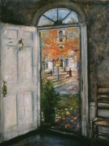 Florence Hosmer Painting - Front Door Hosmer House