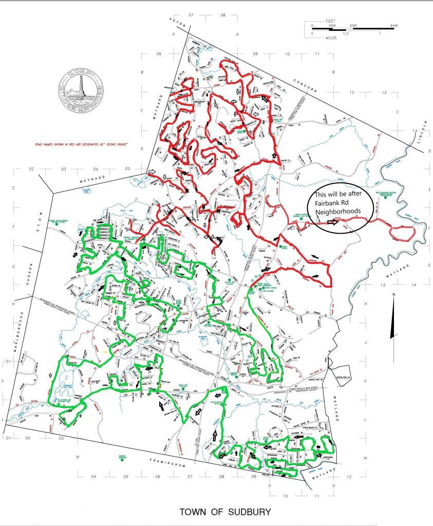 Santa's Route in Sudbury
