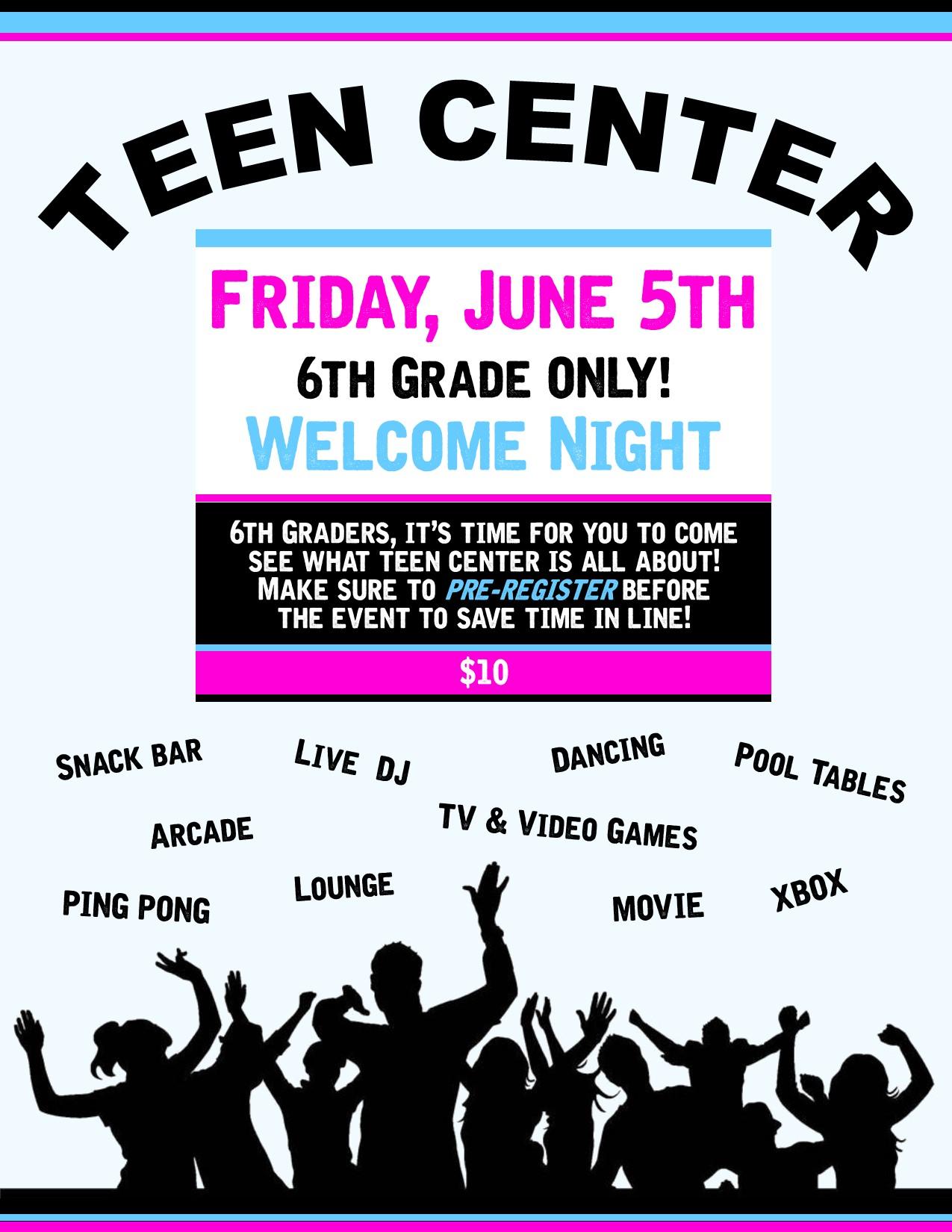 Teen Center Th 63